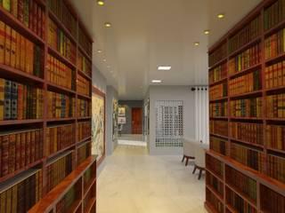 Projeto GRV Corredores, halls e escadas modernos por HPaleari Arquitetura Moderno
