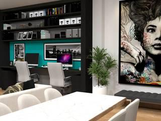 Projeto VML Salas de estar modernas por HPaleari Arquitetura Moderno