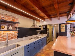 Casa Camelu Cocinas mediterráneas de emARTquitectura Arte y Diseño Mediterráneo