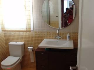 Eclectic style bathroom by ESTUDIO FRANCIA INTERIORISMO Eclectic