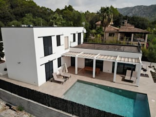 Mallorca Modern commercial spaces by ERGIO Wooden Houses Modern