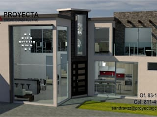 PROYECTA Grupo Constructivo Single family home Stone Grey