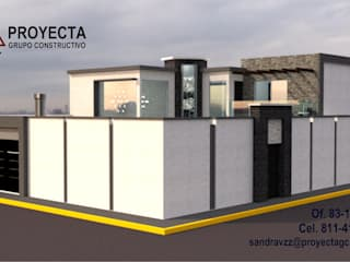 PROYECTA Grupo Constructivo Single family home Stone White