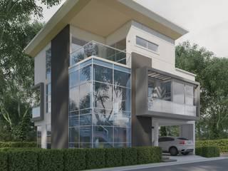 Casa F de Raum360 S.A.S Minimalista