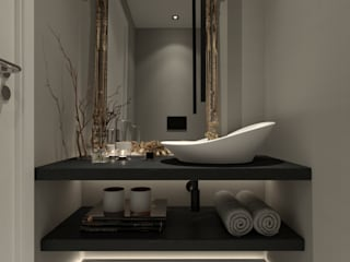Rooftop Diamante Casas de banho modernas por Arquismart, Lda Moderno