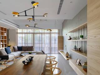 讓家,成為「默想」天堂 根據 千綵胤空間設計 日式風、東方風