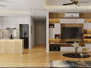 Thiết kế nội thất chung cư Tây Hồ Residence bởi Thiết Kế Nội Thất - ARTBOX