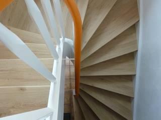 Treppenrenovierung mit Renovierungsstufen von Treppenrenovierung Landhaus