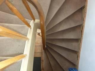 Treppenrenovierung mit Renovierungsstufen von Treppenrenovierung Rustikal