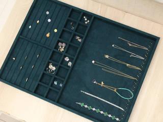 豪宅珠寶收納抽 辰昱國際包裝有限公司 更衣室衣櫥與櫥櫃 布織品 Green