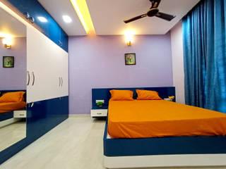 Monnaie Interiors Pvt Ltd Classic style bedroom