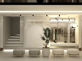 Modern offices & stores by WALL INTERIOR DESIGN Modern