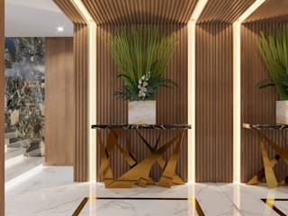 Livings de estilo moderno de Camila Pimenta | Arquitetura + Interiores Moderno