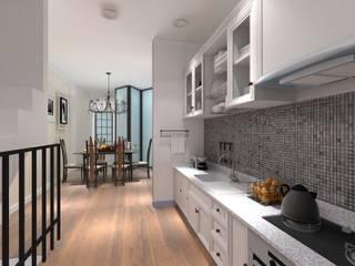 OCTA Bag Home Office - 3D Interior Design Project (Rama III): โคโลเนียล  โดย Valdus Conception Co., Ltd., โคโลเนียล