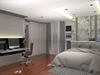 Valdus Conception Co., Ltd. BedroomBeds & headboards Grey