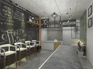 E-Salad - 3D Interior Design Project (Saladaeng): ผสมผสาน  โดย Valdus Conception Co., Ltd., ผสมผสาน