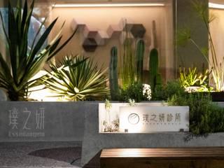 大器聯合室內裝修設計有限公司 Tropical style clinics