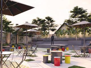 Desain Coffee Shop Tulodo Depok PT NUSA MULTI DIMENSI Rumah tinggal