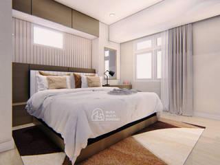 Desain Apartment Summarecon Bekasi PT NUSA MULTI DIMENSI Kamar tidur kecil