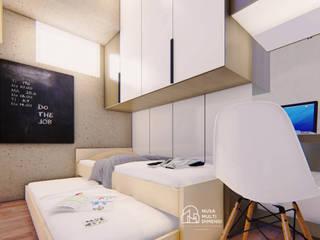 Desain Apartment Summarecon Bekasi PT NUSA MULTI DIMENSI Kamar tidur anak