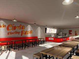 Desain Interior Ayam Asik Bekasi PT NUSA MULTI DIMENSI Rumah tinggal