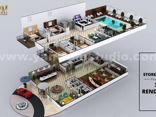 根據 Yantram Architectural Design Studio Corporation 現代風
