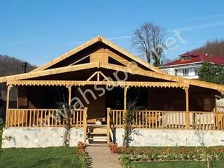 SİSNELİ AHŞAP EV - AĞAÇ EV - KÜTÜK EV - BUNGALOV -KAMELYA Casa di legno