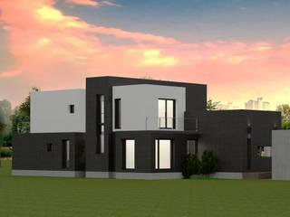 김천시 삼락동 주택건축 by 디자인 이업 모던
