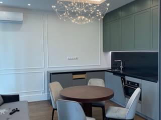 Ремонт малогабаритной квартиры 51 м² на Профсоюзной Кухня в классическом стиле от Бюро интерьеров ICON Классический