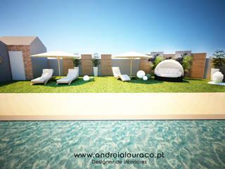 Moderner Garten von Andreia Louraço - Designer de Interiores (Contacto: atelier.andreialouraco@gmail.com) Modern