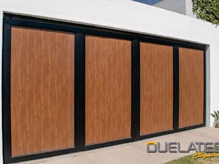Lamitec SA de CV Sliding doors Metal Wood effect