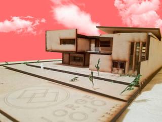 Maqueta volumetrica OCARÁ Arquitectura + Galería Casas de estilo minimalista