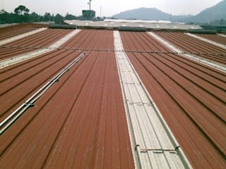IMPERMEABILIZACION DE ESCUELAS GRUPO MEVA CONSTRUCCION, S.A DE C.V. Azoteas Metal Rojo