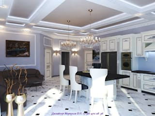 Кухня гостиная Кухня в классическом стиле от Меркулов Владимир Николаевич Классический