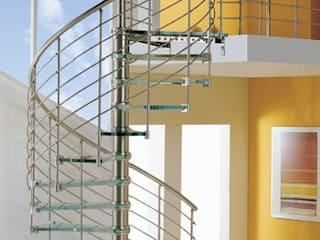 S S Hand rail in Chennai Modern corridor, hallway & stairs by Blue Interior Designs Modern