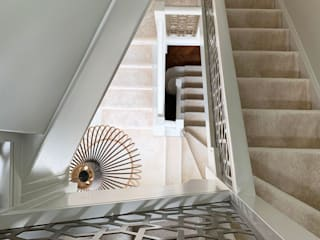 Laser cut balustrade infill – Agra design Staircase Renovation Stairs