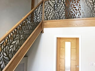 Laser cut balustrade infill panels – Frond Staircase Renovation Stairs
