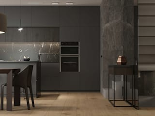 MOLODEJNAIA Кухня в стиле модерн от УММ5 Модерн