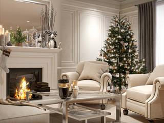 Maytedesign Ruang Keluarga Klasik