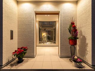 南観音の家 モダンスタイルの 玄関&廊下&階段 の 株式会社かんくう建築デザイン モダン
