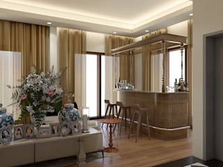 Transitional Style Home: classic  by Paimaish,Classic