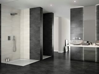 Mathasa Modern bathroom Ceramic Grey