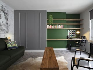 Industrial style study/office by Padeker Industrial
