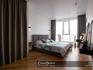 Мурчик Спальня в стиле минимализм от Чвиж Дмитрий Минимализм