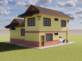 รับออกแบบบ้านใหม่ รับสร้างบ้านใหม่ โดย บริษัท บีบี เฮ้าส์ คอนสตรัคชั่น จำกัด