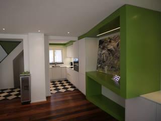 Umbau eines Einfamilienhauses Ottagono+Rechsteiner Interior AG Einbauküche