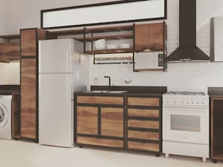 laura zilinski arquitecta Small kitchens