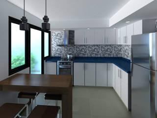 laura zilinski arquitecta Вбудовані кухні