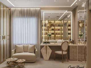 Vestidores y placares de estilo clásico de Camila Pimenta | Arquitetura + Interiores Clásico