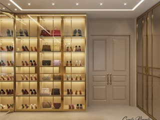 Vestidores clásicos de Camila Pimenta | Arquitetura + Interiores Clásico